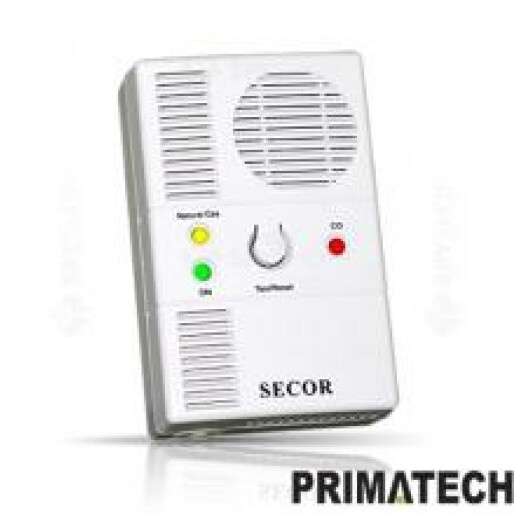 Detector de gaz metan si CO PRIMATECH SECOR 2000