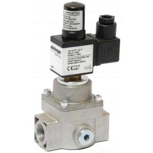 Electrovalva gaz 1 1/2' Pmax 0.6 bar