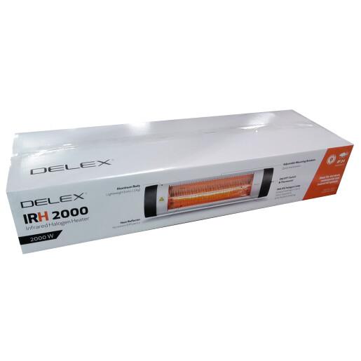 Panou radiant Halogen DELEX IRH 2000W