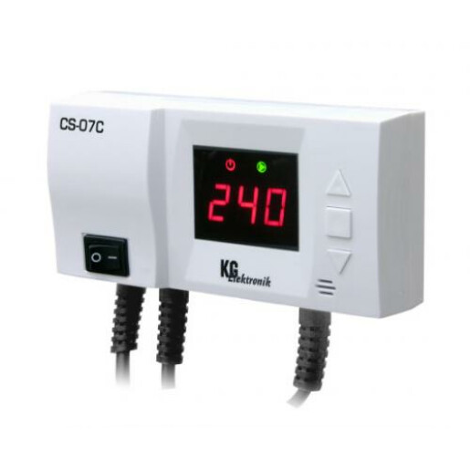 Termostat control 1 pompa recirculare KG CS07