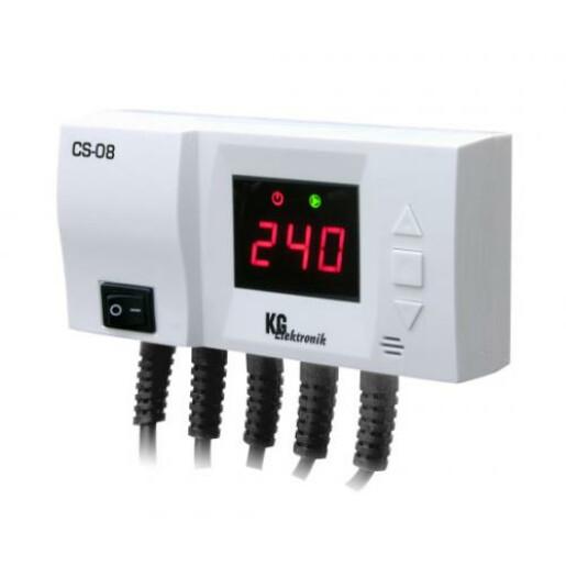 Termostat control 2 pompe recirculare KG CS08