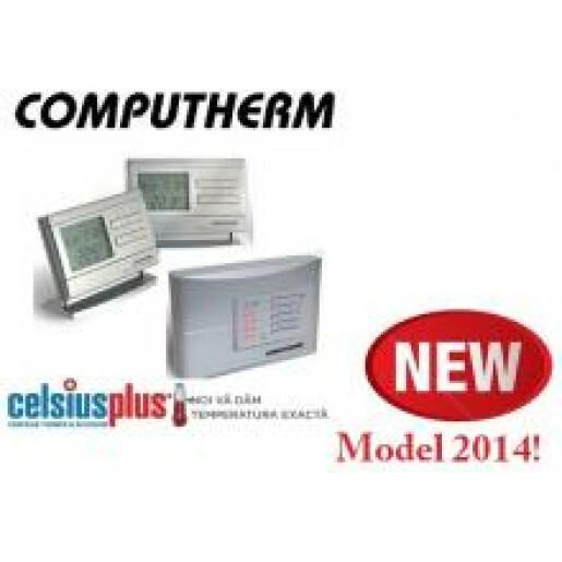 Termostat radio comanda 2 - 4 zone Computherm Q8 RF