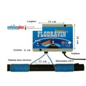 Dedurizator  calcar electric Flodravin