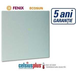 Panou radiant infrarosu joasa temperatura Ecosun K 200 W alb