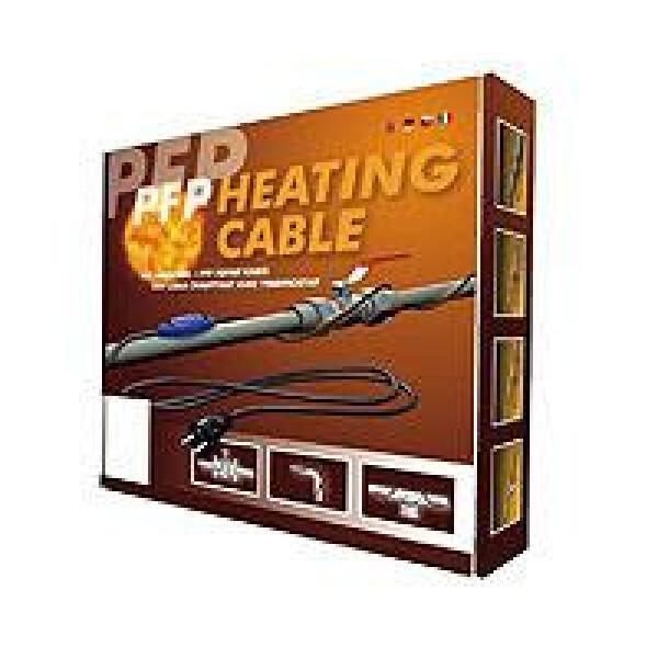 Cablu incalzitor anti inghet cu termostat incorporat PFP 10ml / 146 W