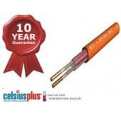 Cablu incalzire electrica in pardosea 18W/ml 1000W 57.5ml