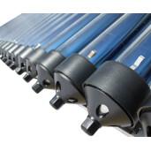 Panou solar presurizat pentru apa calda  Panosol  PS250 cu boiler inox 250L si suport pentru TERASA