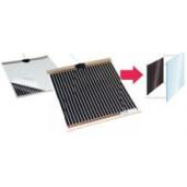 Folie incalzitoare pentru dezaburire oglinzi 50W  524x519mm