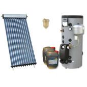 Pachet panou solar confort 4 cu boiler bivalent 200L