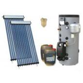 Pachet panou solar confort 6 cu boiler bivalent 300L