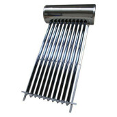 Panou solar presurizat pentru apa calda  Panosol  PS190 cu boiler inox 185 L si suport pentru ACOPERIS