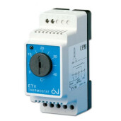 Termostat analogic reglabil ETV 1991 0-40Ã‹Å¡C 230V 16A sonda inclusa