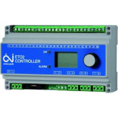 Termostat controler cu uP 3x16A pt. 2 zoneETO2 4550 EU28