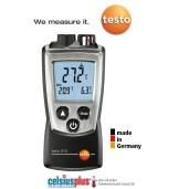 Termometru infrarosu dual cu un fascicul laser  si un senzor ambienta Testo  810